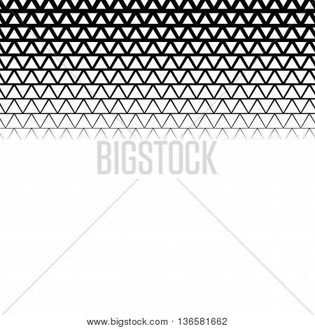 Background with gradient of triangle shaped grid