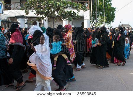 Gubernatorial Electioneering In Lamu, Kenya