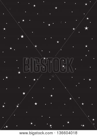Seamless night sky galaxy dust seamless shiny nebula transparent