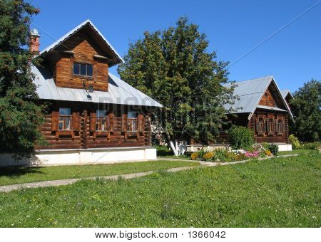 Wooden Houses.
