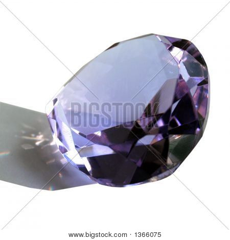 Faceted Glass Gem