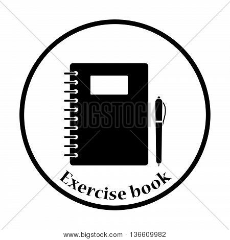 Icon Of Exercise Book