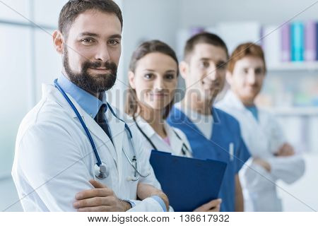 Medical Team At The Hospital