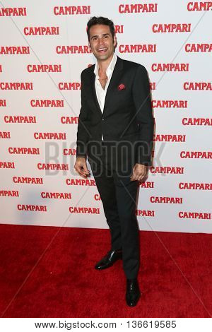 NEW YORK-NOV 18: Musician Chris Norton attends the 2016 Campari Calendar Launch Event at The Standard Hotel on November 18, 2015 in New York City.