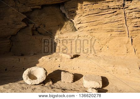 The Ancient Catacombs In The Archaeological Park Of Paphos, Cyprus