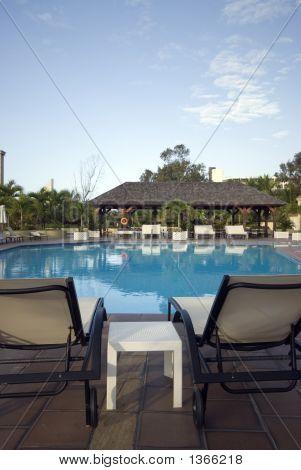 Natación piscina Hotel