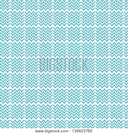 blue dot line chevron pattern background vector illustration image with light blue dot line in chevron style