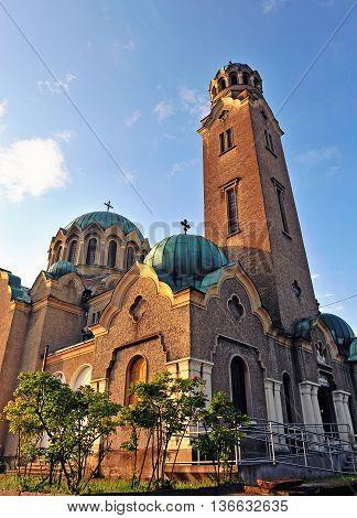 Veliko Tarnovo cathedral in western part of Bulgaria