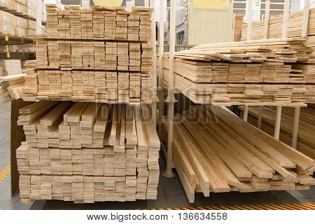 a wholesale store building materials from wood