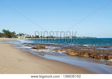 Beach In Porto De Galinhas, Pernambuco, Brazil