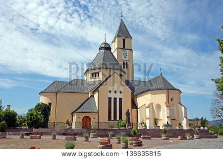 Parish church of the most holy trinity Krasic Croatia