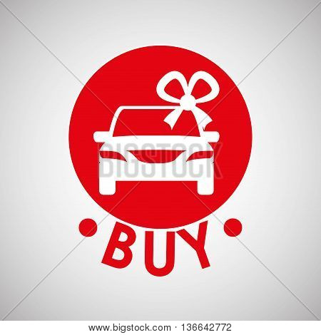 Car sale  concept with icon design, vector illustration 10 eps graphic.