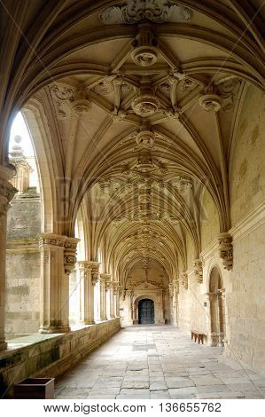 Cloister of Sant Zoilo, Carrion de los Condes; Palencia; Castilla y Leon; Spain;
