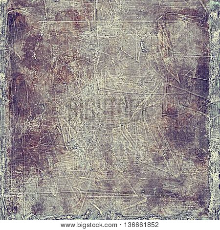 Cute colorful grunge texture or tinted vintage background with different color patterns: brown; gray; purple (violet); pink