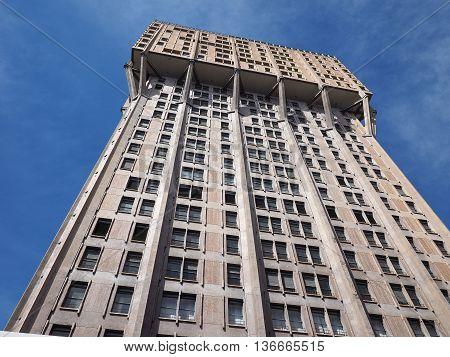 Torre Velasca In Milan
