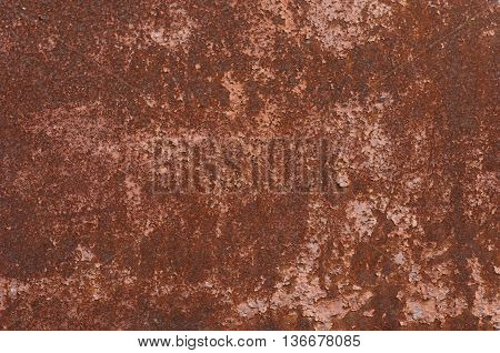 rust completely covered with sheet metal background