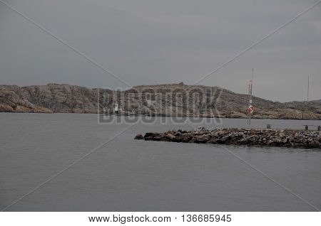 the coast near the swedish City of gothenburg