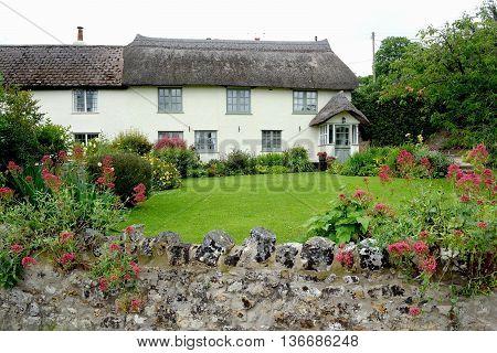 Beautiful thatched cottage with garden in Shute Devon