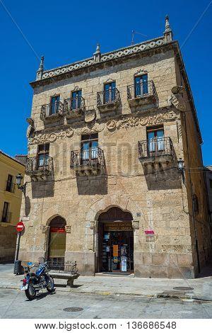 Cueto House In Ciudad Rodrigo, Salamanca, Castilla Y Leon. Spain.