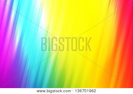 Rainbow color blend to create abstract background