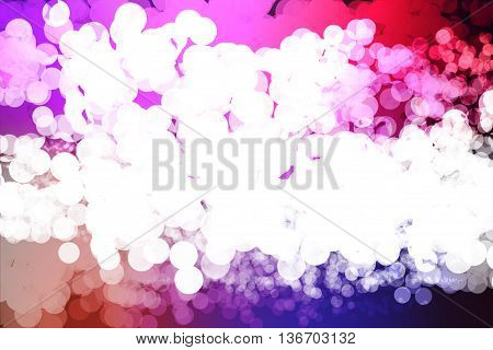 Blue red and black colors used to create abstract background