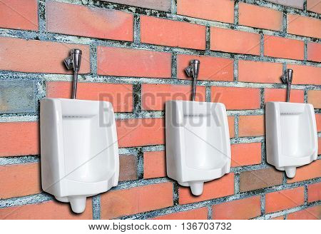 Old And Vintage Brick Wall.