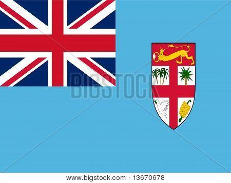Fiji national Flag