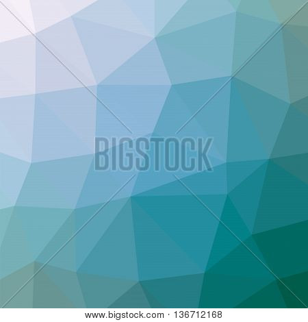 Abstract geometric background with polygons. The background triangles.  Background triangulation. Color blue