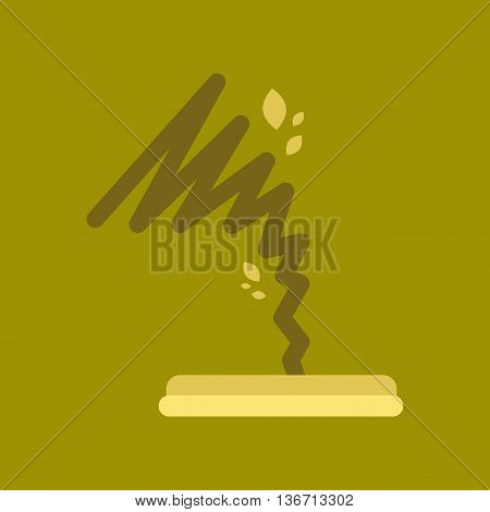 flat icon on stylish background nature disaster tornado