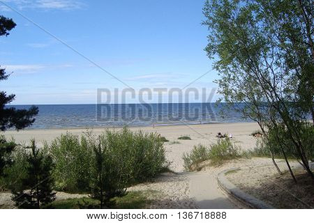 The city of Jurmala of Latvia architecture and sights