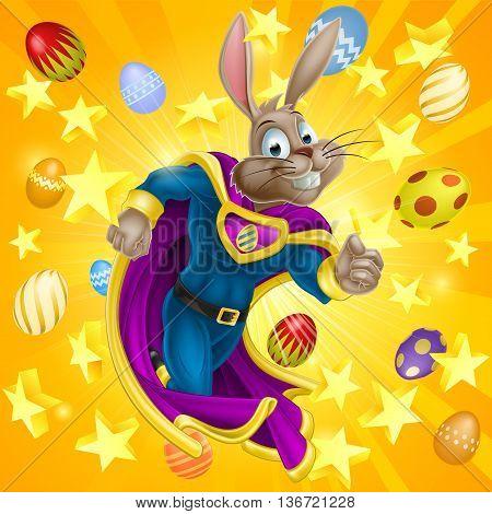 Easter Bunny Superhero