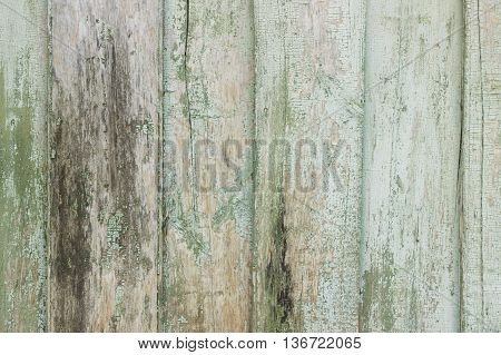 Light Blue Old Wooden Planks