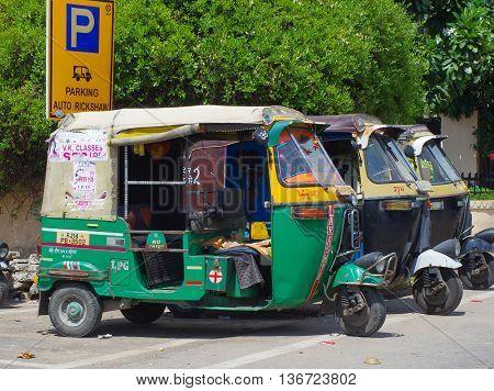 Auto Rickshaw Taxi , India