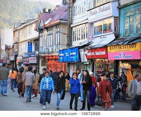 Busy Market Street