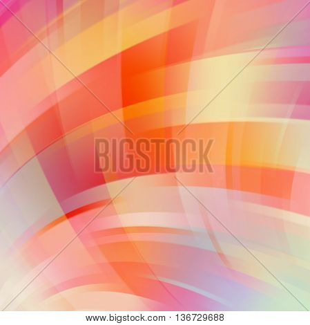 Abstract Technology Background Vector Wallpaper. Stock Vectors Illustration. Yellow, Red, Orange Col
