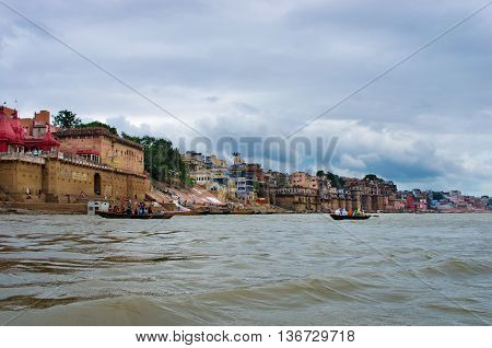 Holy City  Varanasi In India