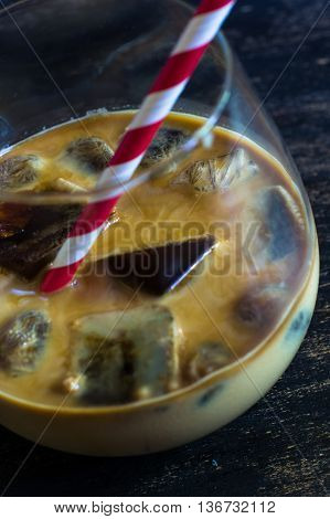 Ice Coffee With Milk