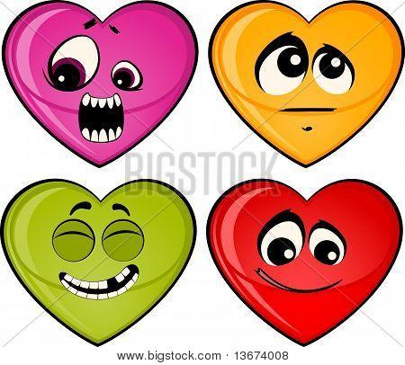 set of heart mimic miens