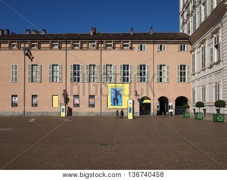 Piazza Castello In Turin