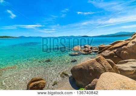 la Celvia beach in Costa Smeralda Sardinia