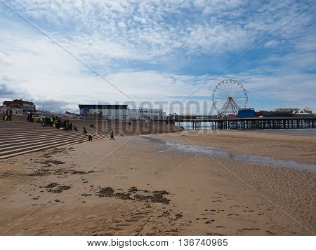 Pleasure Beach In Blackpool