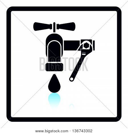 Icon Of Wrench And Faucet