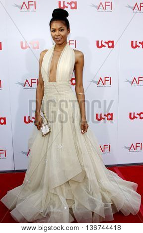 Amerie at the 36th AFI Life Achievement Award held at the Kodak Theater in Hollywood, USA on June 12, 2008.