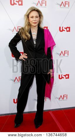 Faye Dunaway at the 36th AFI Life Achievement Award held at the Kodak Theater in Hollywood, USA on June 12, 2008.