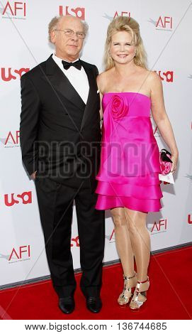 Art Garfunkel and wife Kim at the 36th AFI Life Achievement Award held at the Kodak Theater in Hollywood, USA on June 12, 2008.