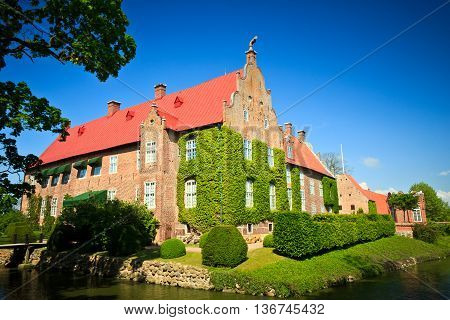 Trolle-Ljungby Castle in Kristianstad Municipality, Scania, in southern Sweden.