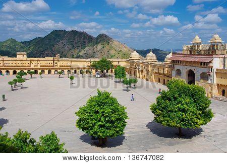 Amber Fort Near Jaipur City , India