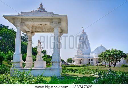 Shri Lakshmi Narayan Temple (birla Mandir), Jaipur, India