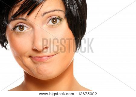 Dissatisfied Woman
