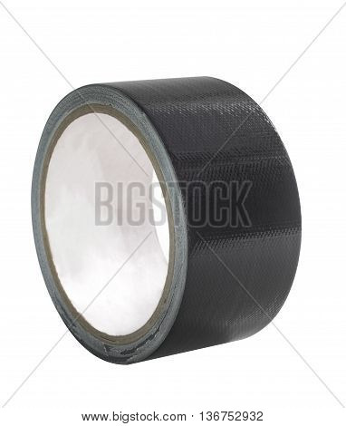 roll of adhesive tape isolated on white background